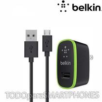 Cargador Ac Belkin Micro Usb Universal 2.1a Envio Gratis
