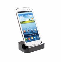 Micro Usb Dock Stand Cargador Galaxy, Htc, Nexus,etc - Negro
