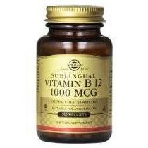 Solgar Vitamina B12 Sublingual 1000 Mcg 250 Pepitas Portador