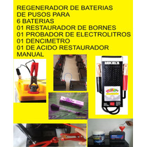 Regenerador De Baterías (si Estas En La Costa Pasa A Verlo)