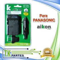 Cargador Cámara Para Panasonic-02 Dmw-bmb9e Dmw-blc12 Ble9