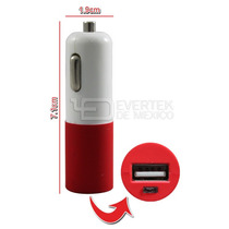 Cargador Usb Para Auto C001 Compatible Ipod, Iphone