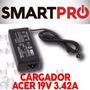 Cargador Original Acer 19v 3.42a 65w Travelmate Aspire