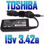 Cargador Nuevo Original Para Toshiba Y Gateway 19v 3.42a