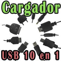 Multicargador Usb 10 En 1 Universal Para Celulares Usb Pulpo