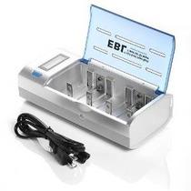 Ebl Cargador De Batería Universal Para Pilas Aa Aaa Cd 9v Ni