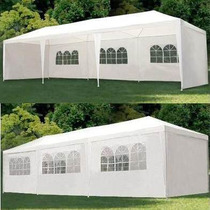 Carpa Toldo El Mas Grande! 9 X 3 Mts- Color Blanco!!!