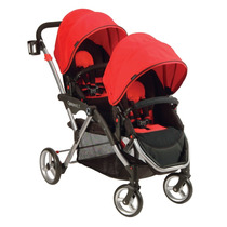 Carreola Tandem Doble Gemelos Bebe Contours Options Lt Hm4