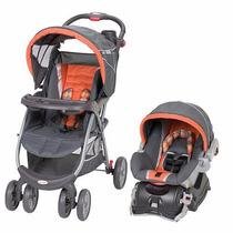 Carriola Y Portabebe Baby Trend Babies R Us Gris Anaranjada