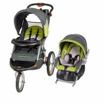 Carriola Portabebe Baby Trend Jogger Elx Verde Gris