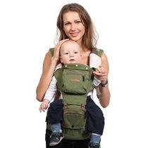 Bebamour 5 Posición Nuevo Estilo Del Portador De Bebé (verde