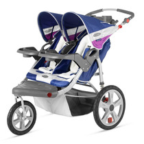 Carreola Carriola Doble Instep Grand Safari Para Bebe Corre