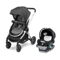 Carriola Duo Urban Chicco Con Portabebe, Base Para El Auto