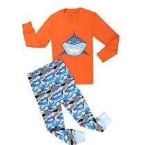 Babyroom Niños Pequeños Gran Tiburón Algodón De Manga Larga