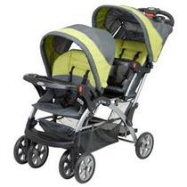 Baby Trend Sit N Soporte Doble, Carbon
