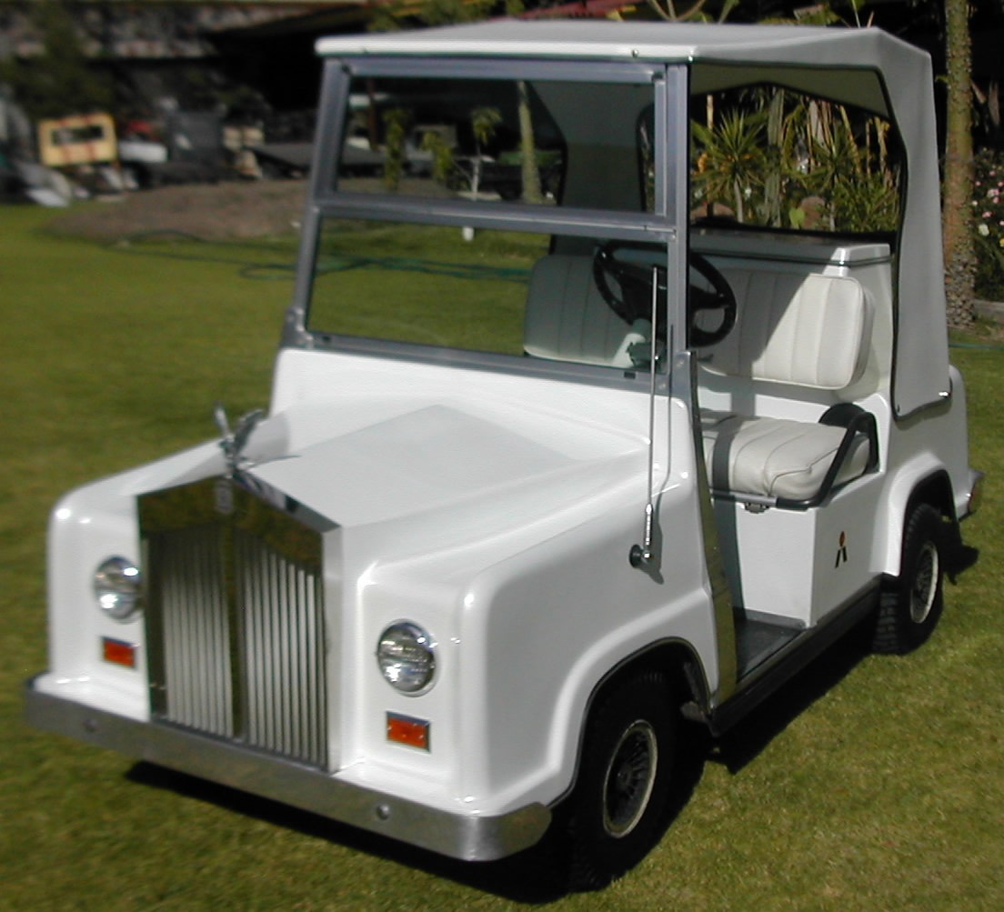 Carro electrico rolls royce