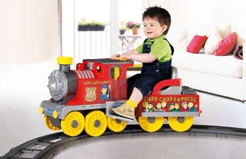 Toys R Us Ride : Carrito tren electrico montable peg perego trenesito
