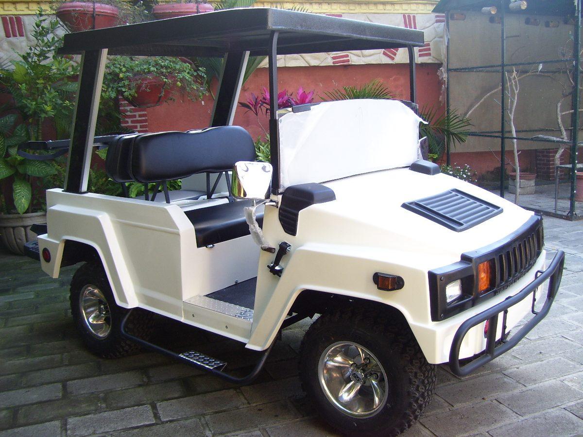 Carro eléctrico tipo hummer