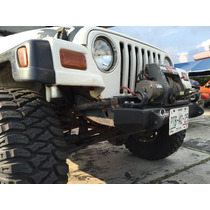 Defensa Winch Jeep Tj Wrangler Base Grilletes Porta