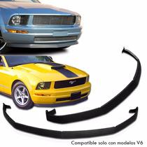 Spoiler Lip Facia Delantera Estilo Cdc Mustang V6 2005 2009