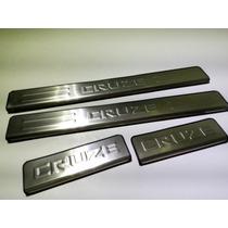 Estribos Interiores Chevrolet Cruze Puertas Aluminio Interio