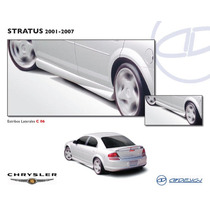 Estribos Stratus 01-07 Fibra De Vidrio Flexible Dmm