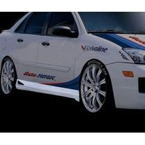 Estribos Ford Focus Fibra De Vidrio Flexible Precio C/u Dmm