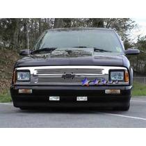 Parrilla Billet Cromada Chevrolet S10 95 96 97 Inserto Grill