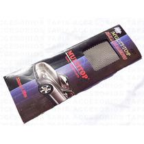 Malla De Aluminio Negra Para Parrilla Tuning Recortable