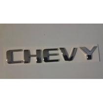 Emblema Texto Chevy, Version C3 Mod. 09, 11, Marca Nacional