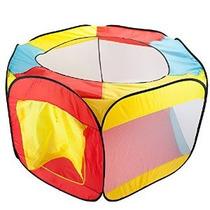 Carpa Hexagonal Pop Up De La Bola Del Hoyo Con Malla Malla Y