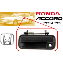 90-93 Honda Accord Manija Exterior Delantera Izquierda