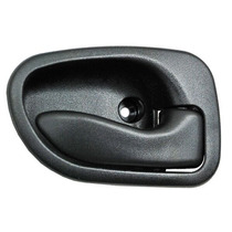 Manija Interior Dodge Atos 2001-2002-2003-2004 Negra Larga