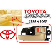 98-03 Toyota Sienna Manija Int. Delantera Derecha Beige