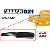86-08 Nissan Camioneta Gancho Tapa Trasera Negro Derecho