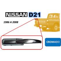 86-08 Nissan Camioneta Gancho Tapa Trasera Cromado Izquierdo