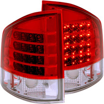 Chevy S10 / Gmc Sonoma 94-04 L.e.d T.l Red/clear