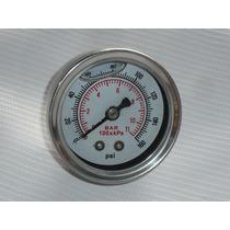 Medidor Presion De Gasolina Caratula Blanca