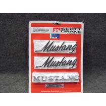 Mustang 69-72 Juego De Emblemas Exteriores