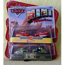 Cars Colección Mini Adventure Rayo Mc Queen Envio Gratis