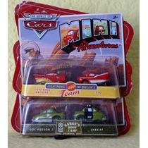 Cars Colección Mini Adventure Rayo Mc Queen Envio Gratis