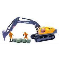 1:32 R/c Excavadora Volvo A Control Remoto Inalambrico