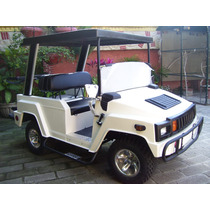 Carro Electrico Tipo Humer Para Golf