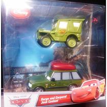 Cars Disney Sarge & Corporal Josh Coolant. Lo + Nuevo !!!!!!