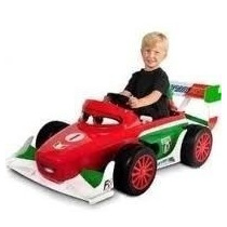 Montable Cars 2 Francesco Bernaulli Power Wheels 6v !!!