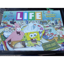 Juguete Juego De Mesa Life Bob Esponja