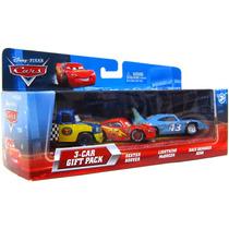 Disney Pixar 3 Cars Gift Pack The King, Mcqueen, Dexter