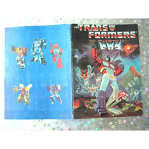 Album De Estampas Los Transformers 1986