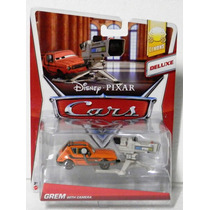 Cars Disney Grem With Camera. Deluxe. Lo + Nuevo !!!!!