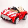 Carrito Electrico Maserati Rojo + Control Remoto Luces Mp3